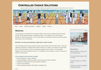 Controlled Choice Solutions